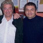 Fabrizio Barsuglia insieme al compianto presidente onorario del Club Lucca Drento, Professor Alessandro Bianchi