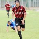 L'attaccante rossonero Francesconi (Foto Alcide Lucca)
