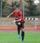 Il difensore rossonero Espeche in azione (Foto Alcide Lucca)