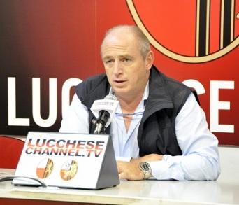 Il presidente Bacci (foto Alcide Lucca)