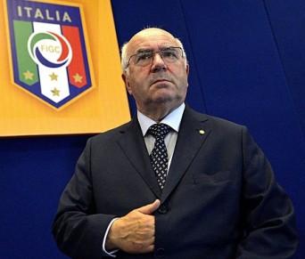 Il presidente Federale Carlo Tavecchio
