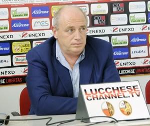 Andrea Bacci, presidente della Lucchese (foto Alcide Lucca)